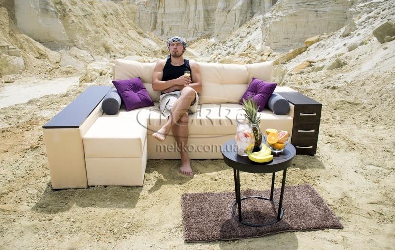 Ортопедичний кутовий диван Cube Shuttle NOVO (Куб Шатл Ново) ф-ка Мекко (2,65*1,65м)  Полтава-6