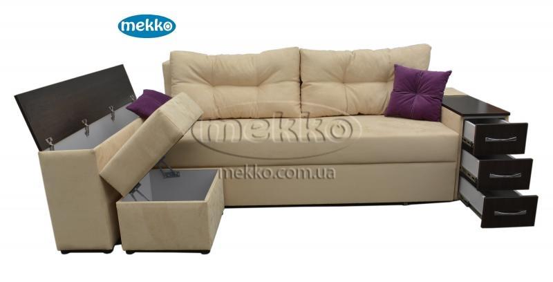 Ортопедичний кутовий диван Cube Shuttle NOVO (Куб Шатл Ново) ф-ка Мекко (2,65*1,65м)  Полтава-13