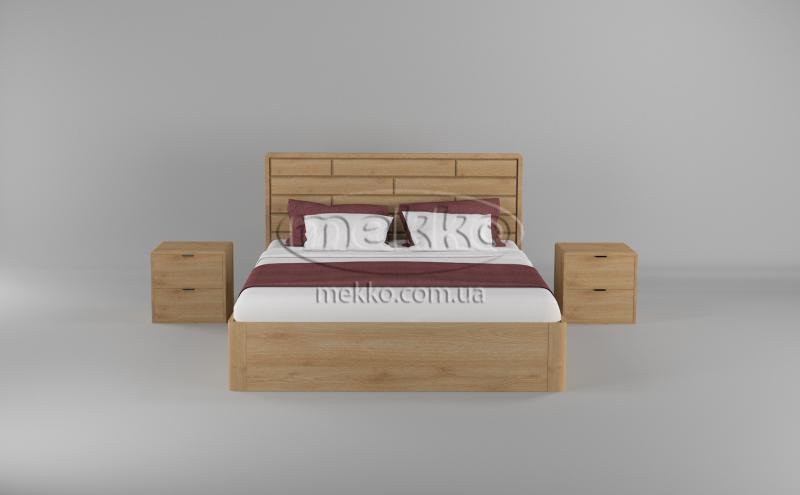Ліжко Лауро з Підйомником (масив бука /масив дуба) T.Q.Project  Полтава-4