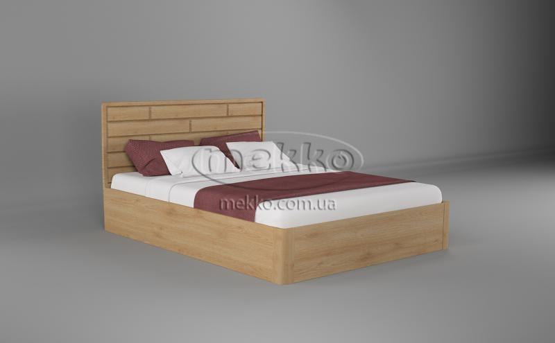 Ліжко Лауро з Підйомником (масив бука /масив дуба) T.Q.Project  Полтава-5