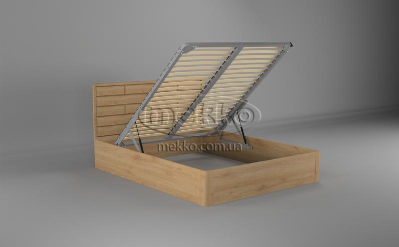 Ліжко Лауро з Підйомником (масив бука /масив дуба) T.Q.Project  Полтава-2